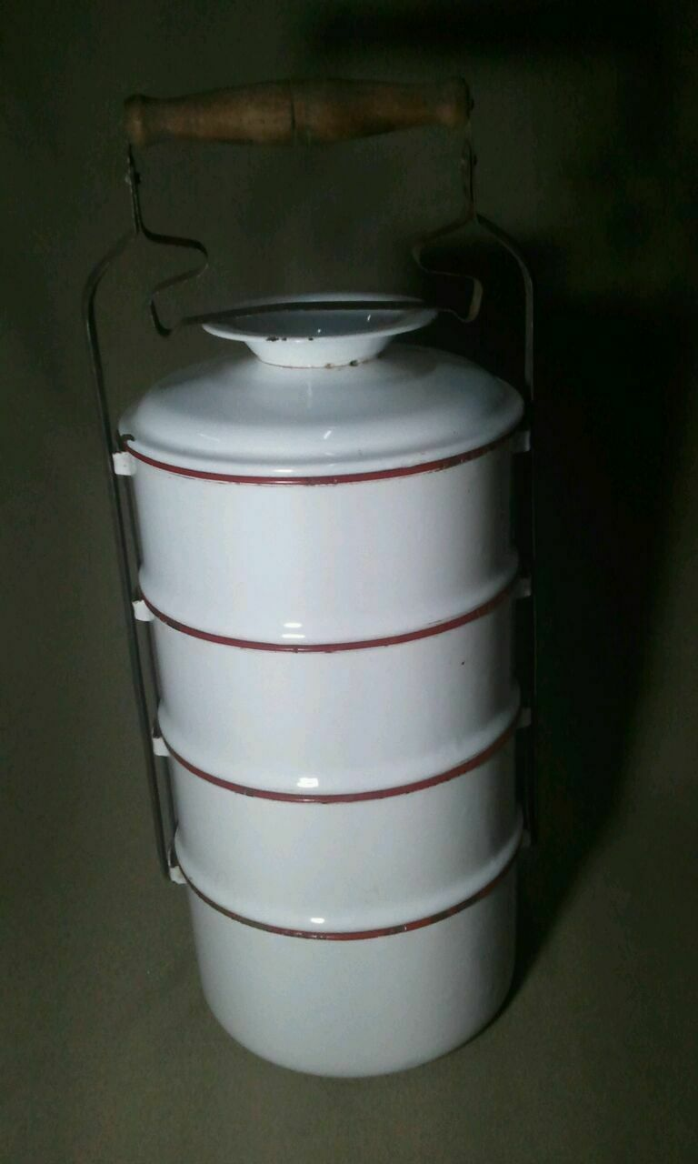 2/&4 also available UK Seller Multiples available Indian Tiffin Set NEW 3 tier