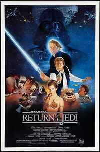 A1 A3 A2 Vintage Movie Poster RETURN OF THE JEDI 2-A4 Home Wall Art Print