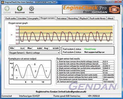 EngineCheck Pro Software for ELM327 EOBD Engine scanner   eBay
