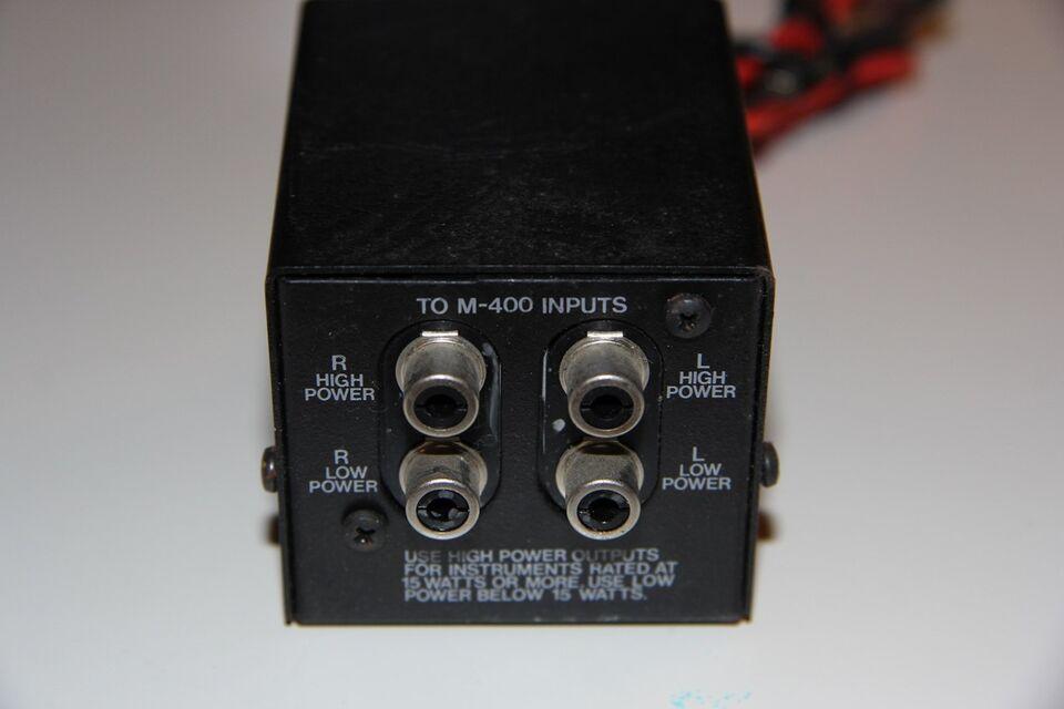 Andet, Carver, Wide Band Z coupler Z-1