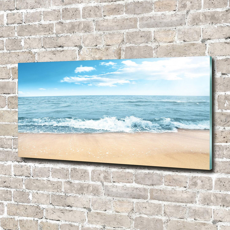 Acrylglas-Bild Wandbilder Druck 140x70 Deko Landschaften Strand