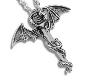 Juego de tronos espada Colgante Collar Y Bolsa De Regalo