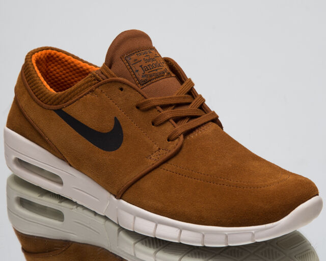 ad3a9b2c13 Nike Stefan Janoski Max Leather Men s Lifestyle Shoes Hazelnut Black  685299-201