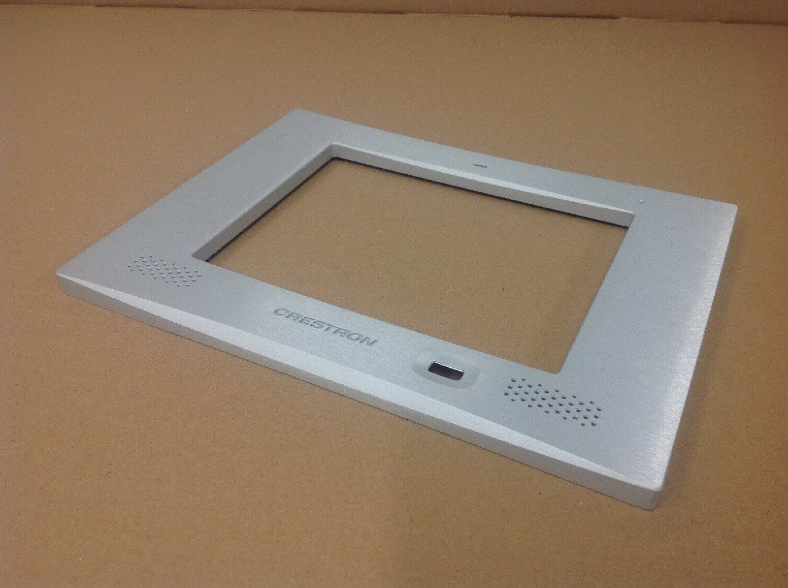CRESTRON TPMC-FPAR8L-S STEEL aluminum TOUCHPANEL FACEPLATE for TPMC-8L