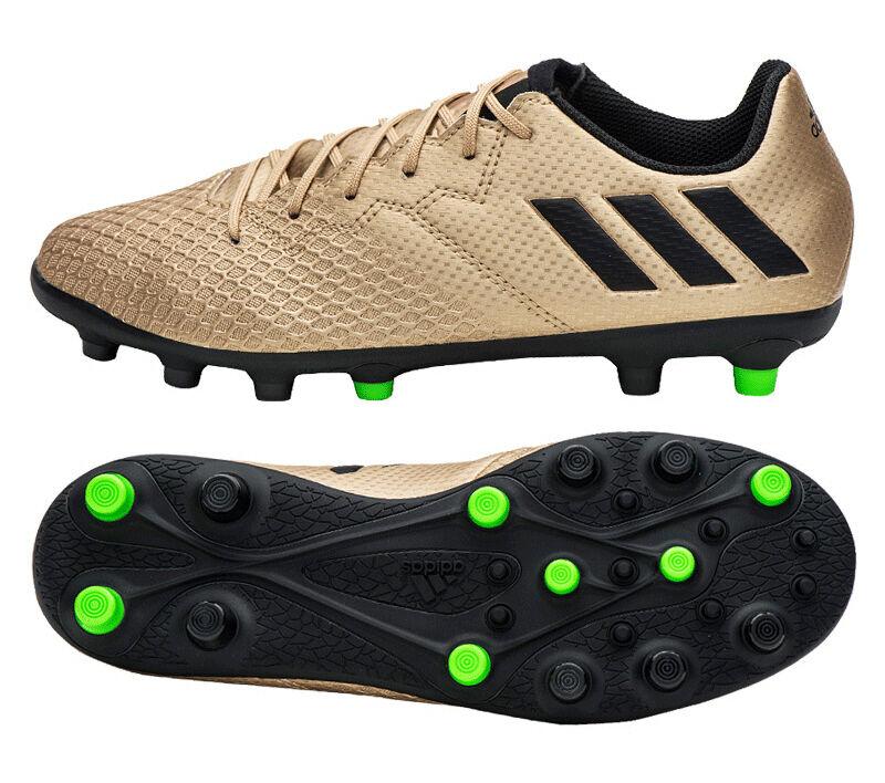 Adidas Junior Messi 16.3 HG BA9848 Soccer Cleats Football scarpe Kids stivali oro