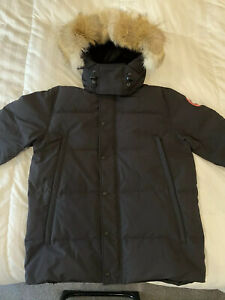 Canada-Goose-Wyndham-Parka-New-Without-Tags-Mens-XL-Navy-Marine