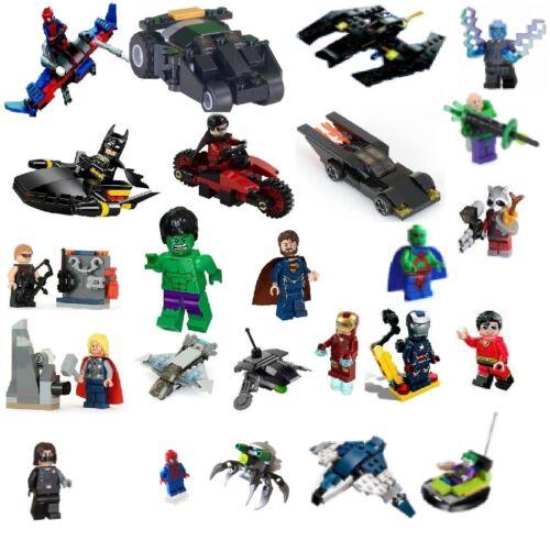 LEGO super heroes NEUF + OVP polybags * sélection * Batman Marvel Avengers et autres
