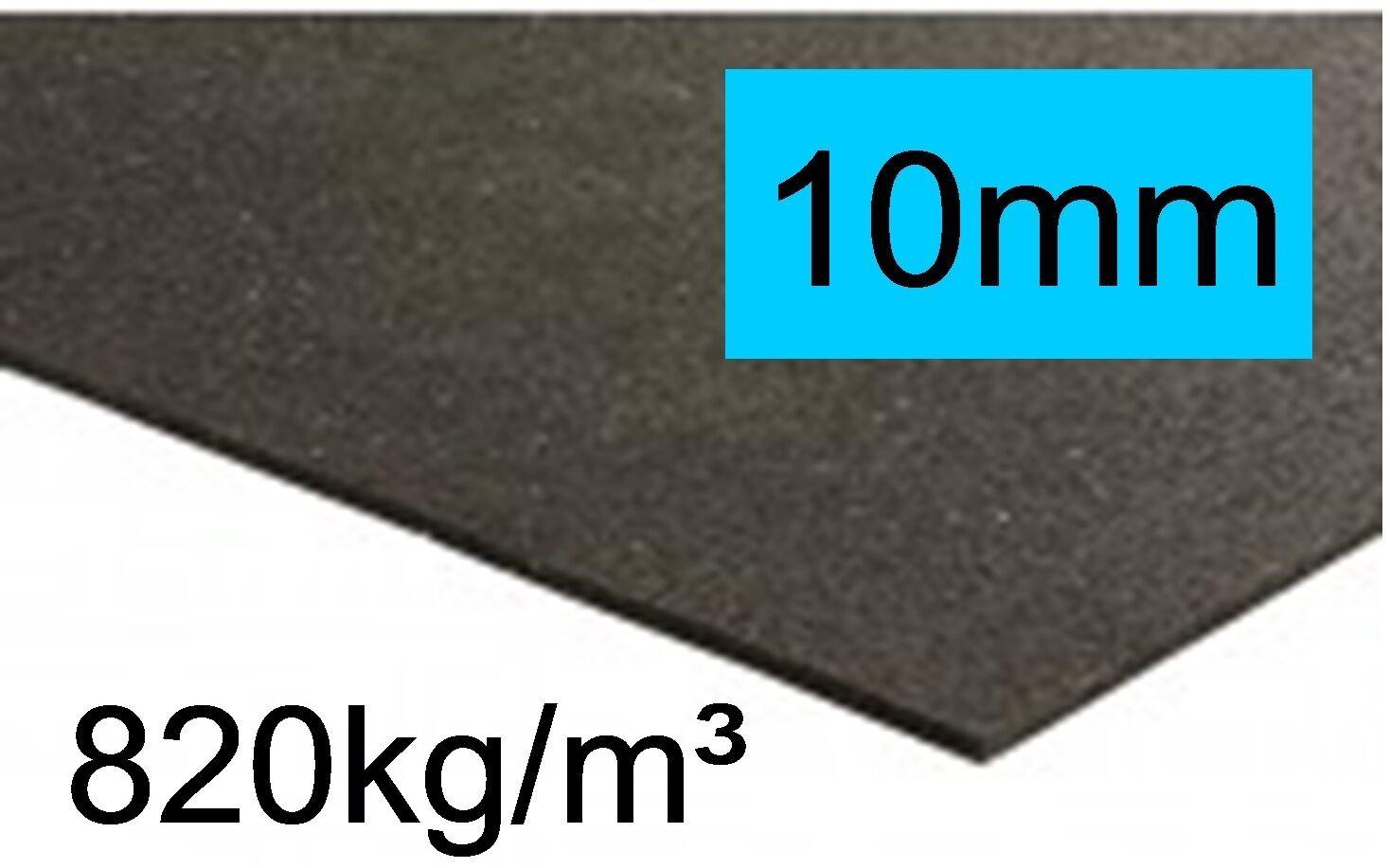 2,5m² Antirutschmatten, 1,25mx2m, LKW,Ladungssicherung VDI 2700,10mm