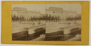 La-Moneta-Parigi-Francia-Foto-Stereo-P28T4n19-Vintage-Albumina-c1870