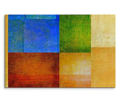 Leinwandbild 120x80cm auf Keilrahmen abstrakt,quadratisch,grafik,blau,grün,rot