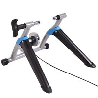 Iron Exercise Bicycle Trainer Magnetic 8 Level Resistance Stand Stationary
