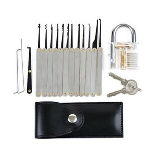 12pcs schloss schlossknacken lockpicking set dietrich. Black Bedroom Furniture Sets. Home Design Ideas