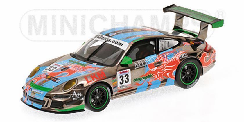 Porsche 911 gt3 cup s minichamps - mok weng sonne vainqueur herausforderung gt3 asie