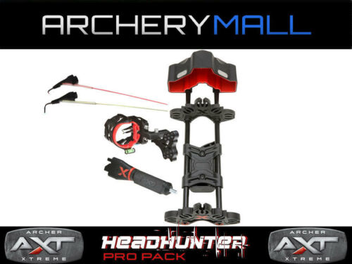 Archer Xtreme Headhunter Pack Pro Bow Kit d'accessoires (vue/Carquois/Stabilisateur)