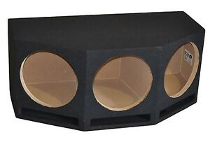 Image is loading Triple-12-034-Ported-Subwoofer-Box-Vented-Sub-  sc 1 st  eBay & Triple 12