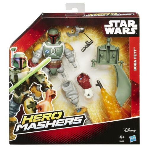 Star wars-héros mashers deluxe-B3667 boba fett-neuf