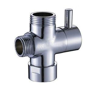 1 2 bsp 3 way t adapter shower head diverter valve for bath mixer tap. Black Bedroom Furniture Sets. Home Design Ideas