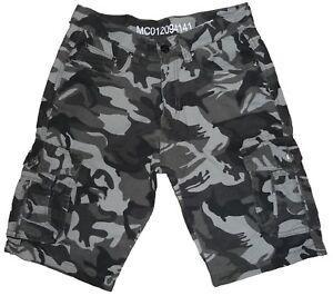 Caricamento dell immagine in corso Bermuda-Pantalone -Corto-Ginocchio-Estivo-Tasche-Mimetico-Militare- 89490afe6b2e