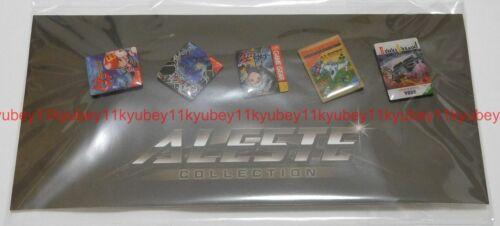 Aleste Collection Original Pins Set Japan