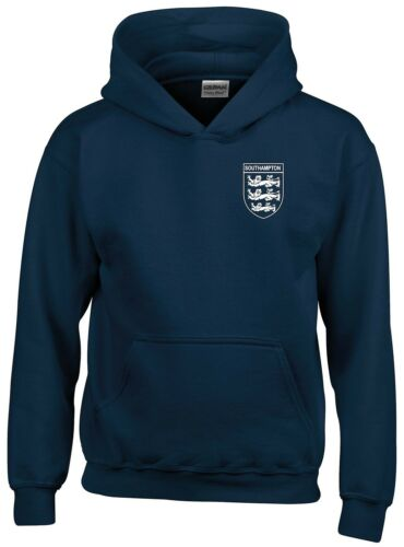 SOUTHAMPTON 3 LIONS CLUB AND COUNTRY SMALL CREST HOODIE MENS