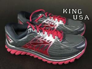 Women-039-s-Brooks-Glycerin-14-Running-Shoes-Anthracite-Azalea-Size-9-5-2A-Narrow