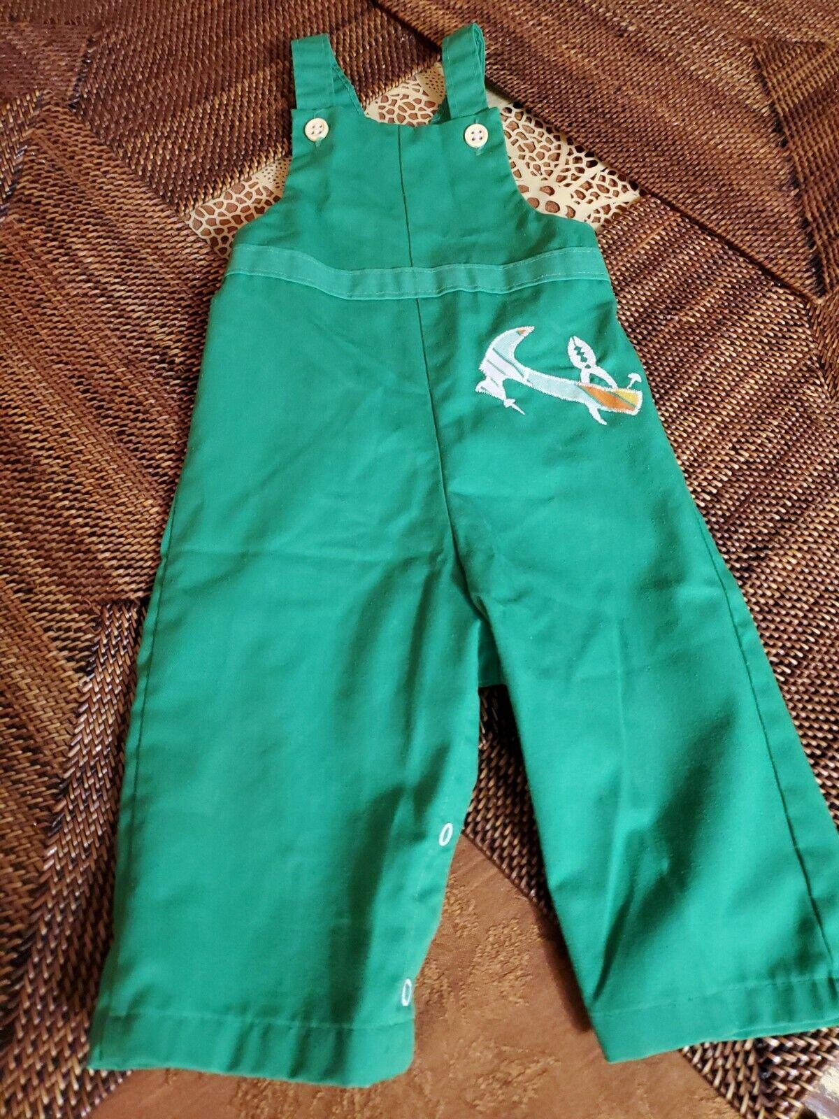 Vintage Healthtex Boys Jumpsuit NWT