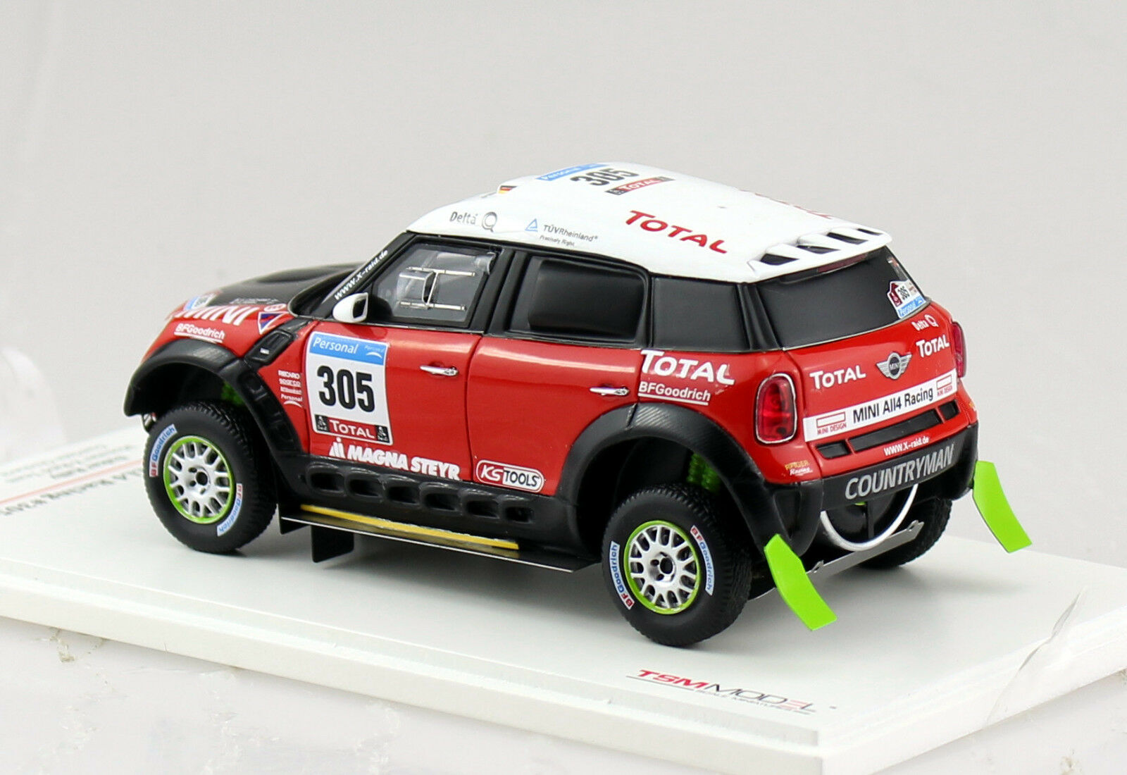 Mini All4 Racing Dakar 2011    305 True Scale Miniature 1 43 Modellauto 114351 9b62dd