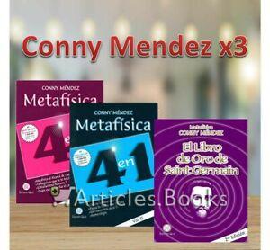 Conny Mendez x3 Metafisica Vol I y II / El libro de Oro de