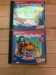 Fisher Price Pc Game Pirate Ship Castle Great Adventures Ebay