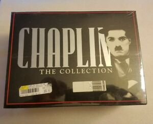 CHAPLIN-THE-COLLECTION-VOLUMES-1-10-VHS-TAPES-1993-BRAND-NEW-SEALED