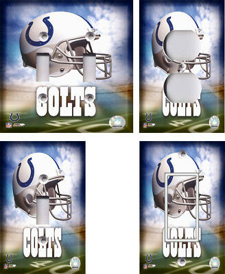 NFL - Indianapolis Colts - Light Switch Covers Home Decor ...