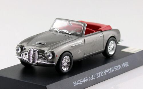 MASERATI a6g 2000 SPYDER FRUA GRIGIO 1956 1:43 modello di auto