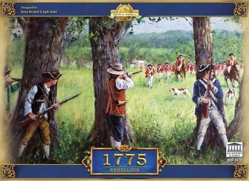 1775 1775 1775 - Rebellion academy games. shrink wrapped cd6710