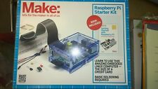 Make: Raspberry Pi Starter Kit New in Box 793573131560 includes manual