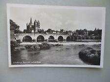 Ansichtskarte Limburg Dom mit Lahnbrücke 50/60er??