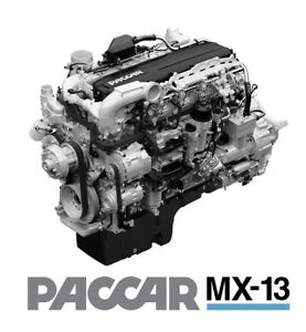 Details about PACCAR Davie 4 Engine Diagnostic Software MX-11 MX-13 OEM  Engine Software only