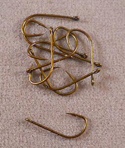1 Pack Of 10 Size #4 Baitholder Hooks, Panfish Crappie Fishing Hook
