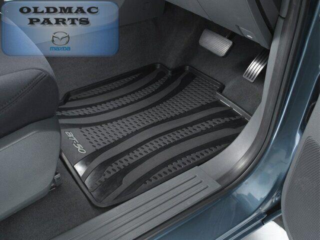 New Genuine Mazda BT50 UP All Weather Rubber Floor Mat Front Set UP11ACRSV