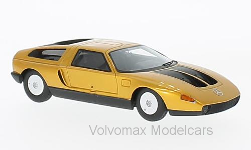Merveilleux néo-MODELCAR Mercedes-Benz C111-IID - DarkOrange met. - 1 43 - Lim. Ed.