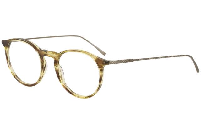 03a01dd8d68 Lacoste Men s Eyeglasses L2815 L 2815 210 Striped Brown Optical Frame 49mm  for sale online