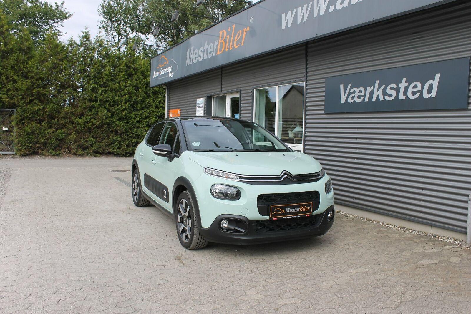 Citroën C3 1,5 BlueHDi 100 VTR Sport 5d - 129.800 kr.