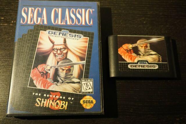Revenge of Shinobi (Sega Genesis, 1989)