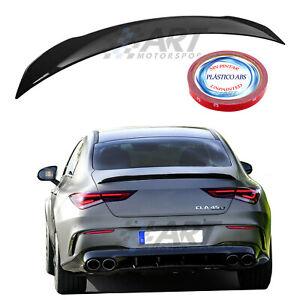 Alerón spoiler compatible con Mercedes Cla C118 W118 19-21 en plástico Abs + 3M