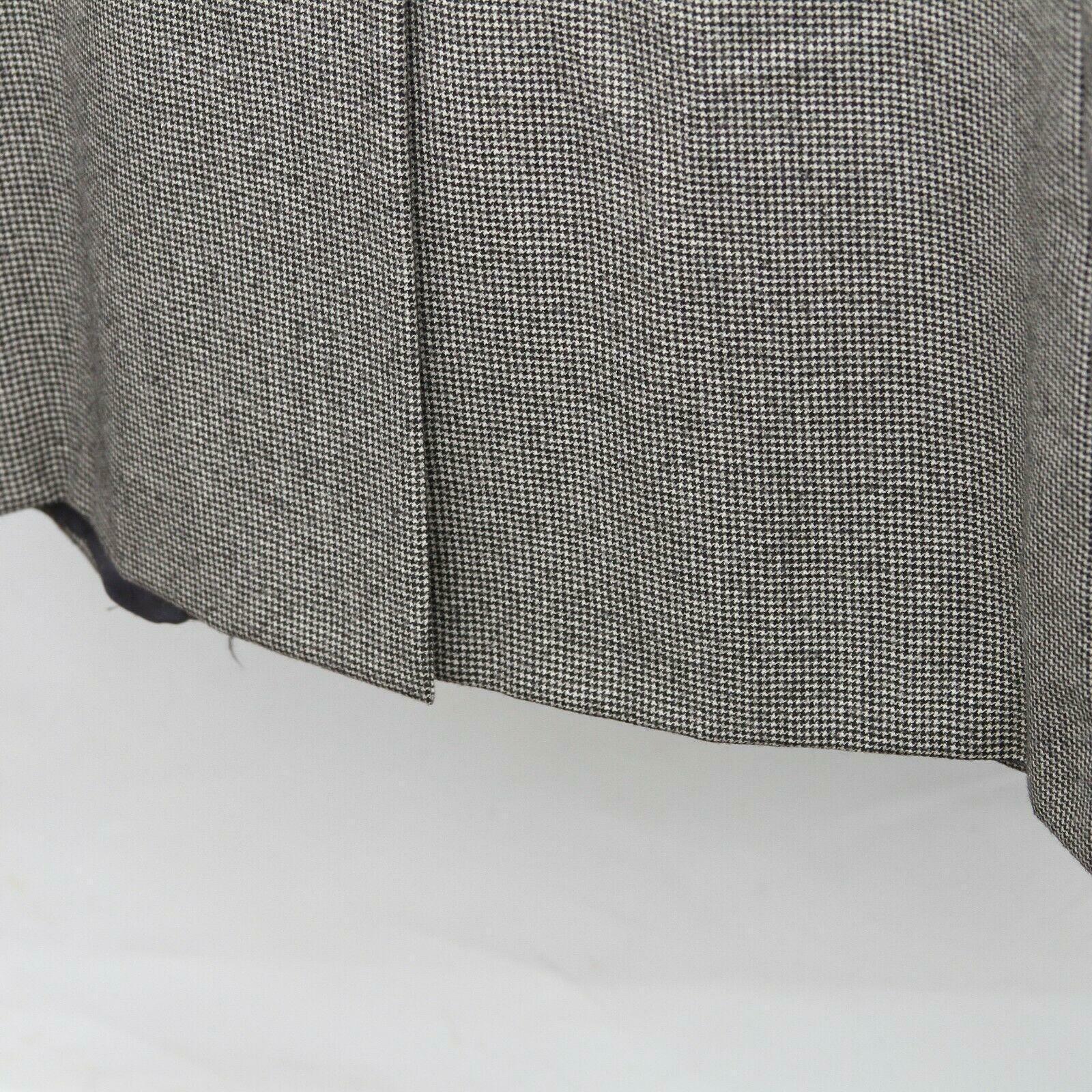 Hickey Freeman Paul Simon Gray White Black Wool H… - image 11