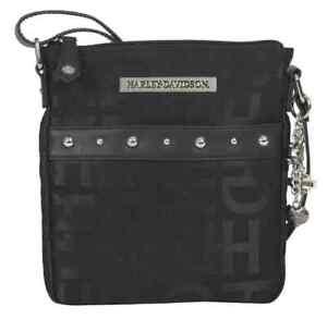 f5a9a51c79ce Image is loading Harley-Davidson-Women-039-s-H-D-Jacquard-Slim-Crossbody-