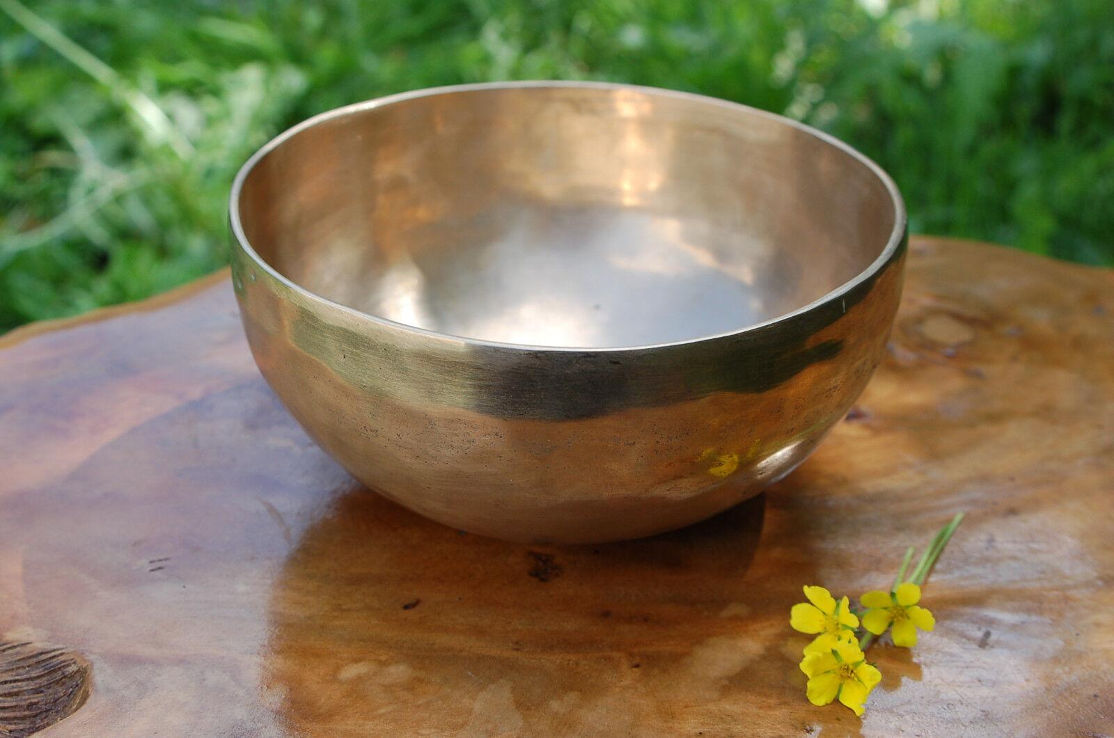 Klangschale 15,5cm 630g Singing Bowl Nepal Chö Pa