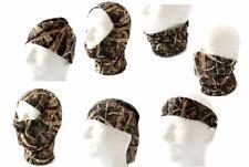 Mossy Oak Shadow Grass Blades Quik Camo Convertible Face Mask Neck Gator Beanie