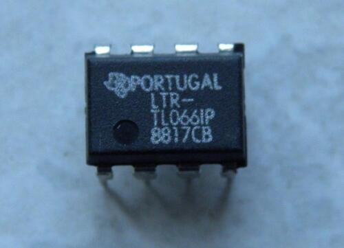 2 x Adjustable JFET operational amplifier TL066 IP Ampli Op 2 ietms