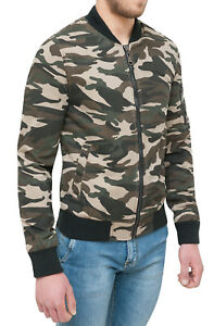 De Homme Militaire Veste En Blouson Camouflage S 1OFqS4