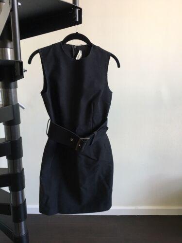 COMME DES GARÇONS Vintage Black Belted Dress